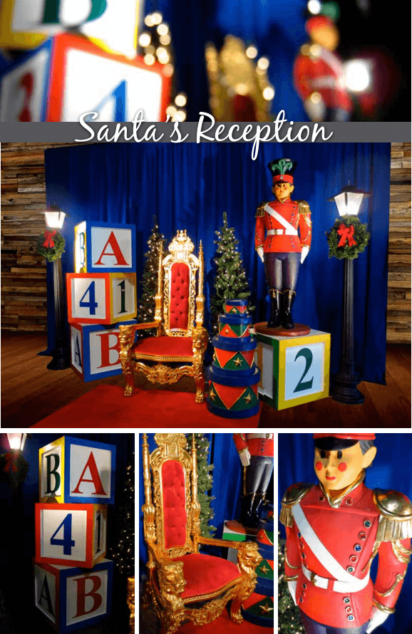 EE santa reception