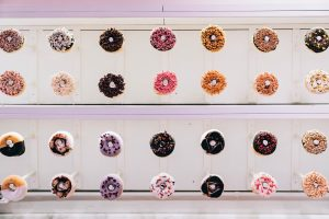 Doughnut Wall - Ways to Wow Your Party Guests